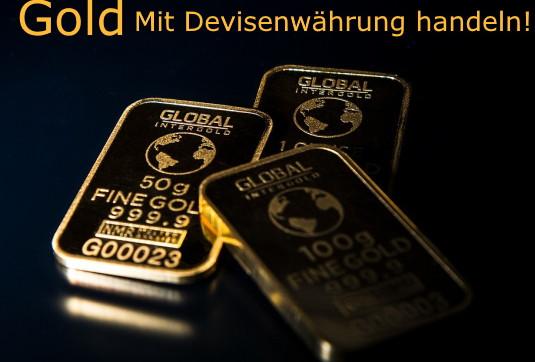 Gold mit Forex Devisenpaar handeln