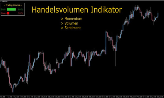 Handelsvolumen Indikator