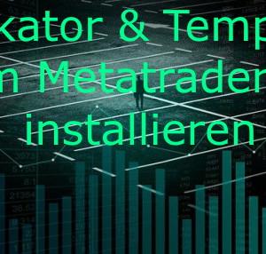 im Metatrader4 installieren